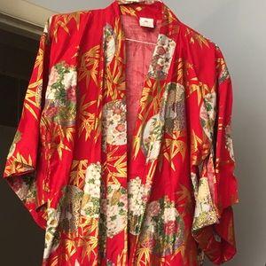 SAKURAI SHOJI JAPANESE YUKATA ROBE 100% COTTON
